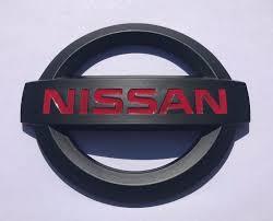 custom nissan maxima nissan mat black trunk emblem with red custom nissan maxima altima