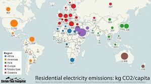 electricity emissions around the world shrinkthatfootprint