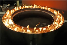 Firepit Ring Custom Centerless Pit Rings Propane Or Gas Conversion