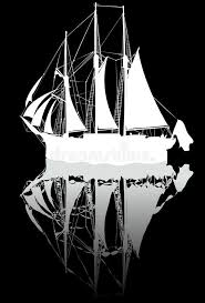 ship sketch stock illustration image of shipping monochrome
