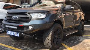 2016 Ford Everest Rhino 4 4 Ford Everest 2016 Front Evolution 3d Bumper