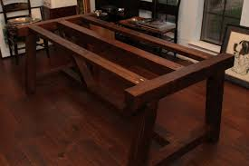 Ana White Truss Coffee Table Diy Projects by Ana White 4x4 Truss Beam Table Diy Projects