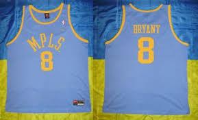 new very rare kobe bryant los angeles lakers nba jersey nike size
