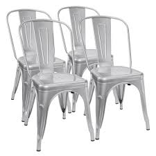Metal Outdoor Dining Chairs Patio Dining Chairs Amazon Com
