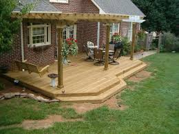 Patio And Deck Ideas Love This Deck The Trellis Would Look Great Covered In A