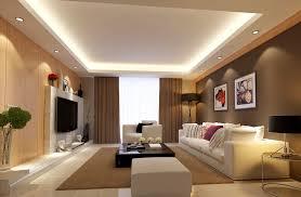 light brown living room interior design rendering 3d house