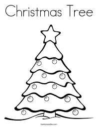 pine tree coloring pages christmas tree coloring page tracing twisty noodle christmas
