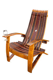 amazon com wine barrel adirondack chair patio lawn u0026 garden