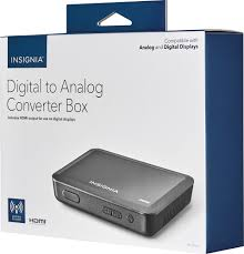 insignia digital to analog converter box with hdmi output black ns