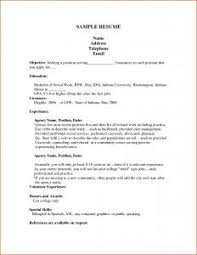 Cocktail Server Resume Examples Of Resumes Responsibilities A Cocktail Waitress Resume