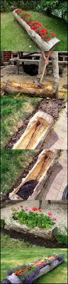 upcycled tree stump and log ideas logs ideas tree stump and logs