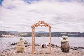 wedding arch kelowna wedding at lake okanagan resort kelowna bc karlee