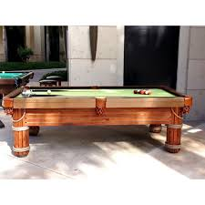 Outdoor Pool Tables by Caribbean Outdoor Pool Table Aminis