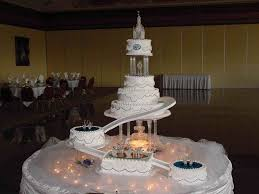 wedding cakes with fountains the wedding cakes with fountains and bridges bridge the