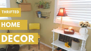 thrifted rustic shabby chic home decor tour collab youtube
