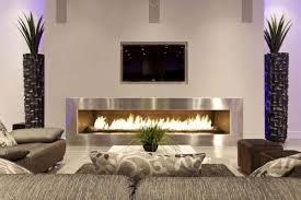 luxus wohnzimmer modern mit kamin dekoideen fürs wohnzimmer kamin tv sofa dekokamin