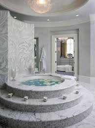 create a romantic atmosphere in the bathroom with creative