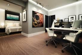 Design Ideas Bedroom Office Combo Master Bedroom Office Combo White Ceramic Flooring Side Open