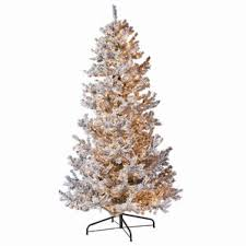 flocked trees you ll wayfair