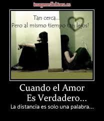 imagenes de amor verdadero ala distancia cuando el amor es verdadero la distancia es solo una palabra