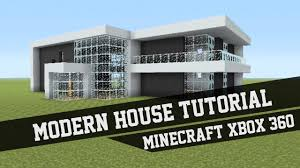large modern house tutorial minecraft xbox 360 2 youtube