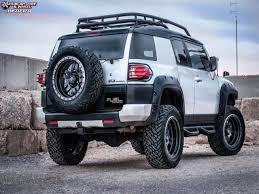 toyota fj cruiser fuel anza d557 wheels matte black w anthracite ring