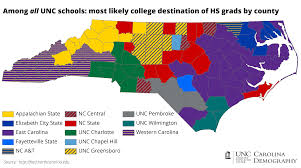 Map Of North Carolina Cities Nc College Bound An Update Carolina Demography