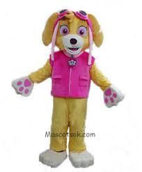 sale paw patrol skye mascot costume dog fancy suit