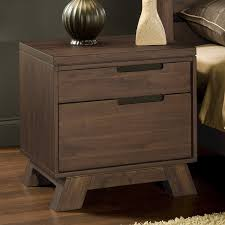 bedroom nightstand dark brown bedside table wrought iron night