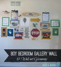 diy projects boy bedroom gallery wall some diy projects and a giveaway u2022 our