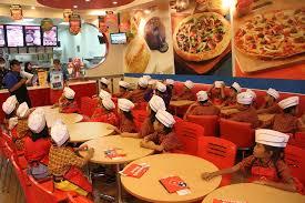 domino pizza tangerang selatan csr stella maris