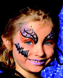 witch face painting model
