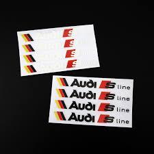 audi sport store aliexpress com buy 4pcs etie car styling vinyl wrap adhesive