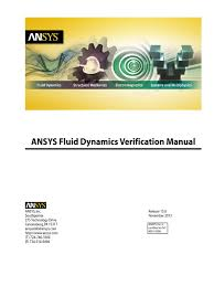 fluid dynamics verification manual pdf docshare tips
