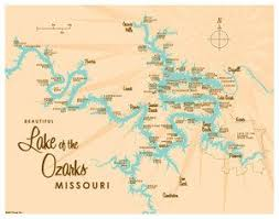 cove lake of the ozarks map the 25 best ozarks map ideas on arkansas vacations