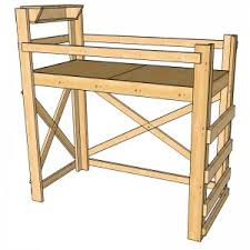 College Loft Bed Plans Free by Op Loftbed Home Op Loftbed