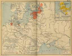 Map Of Europe Pre Ww1 by Historical Maps Of Scandinavia
