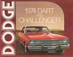 Dodge Challenger 1974 - chrysler 1974 dodge challenger sales brochure