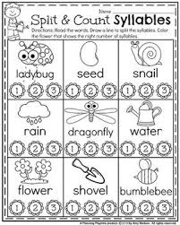 syllable rules activities and worksheets syllable worksheets