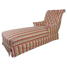 French Chaise Lounge Sofa by Large French 19th Century Napoleon Iii Chaise Longue In Striped