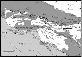 California Fault Map Earthquake Report 1994 Northridge Jay Patton Online