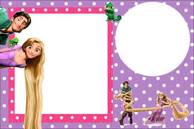 tangled rapunzel free printable party invitations is it for
