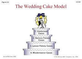 wedding cake model chapter 3 the criminal justice system irwin mcgraw hill ppt
