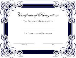download free certificate templates microsoft word template