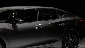 black nissan 2016 watch 2016 nissan maxima unveiling live from new york auto show