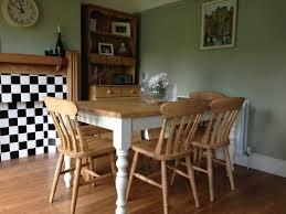 Rustic Farmhouse Kitchens - kitchen farmhouse dining set gray farmhouse table round