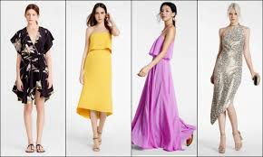 dresses to go to a wedding what to wear to a wedding 12 dresses from fashion island orange
