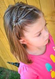 11 Easy Hairstyles To Get Your Kids Out The Door Fast Ponytail