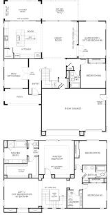 Ennis House Floor Plan by Plan 2 Senterra Inland Empire Pardee Homes