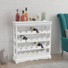 white wine rack cabinet white wine rack shabby chic wooden cabinet bottles storage holder